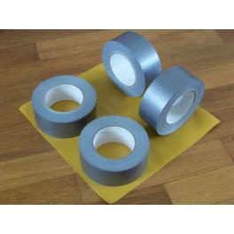 Duct tape A kwaliteit 24 rol duck grijs