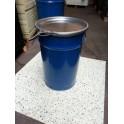 Metalen vat 60 liter blauw