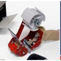 Tape Dispenser tape metaal uitklapbaar mes