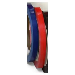 Pvc 9mm x 66 m doos 192 rol rood blauw