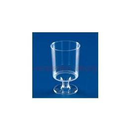 Plastic wijnglas