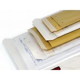 B Luchtkussen envelop wit bruin 110*215