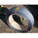 PP band 12 x 0.65 2600 meter K406 grijs